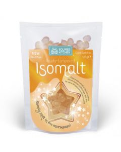 Squires Kitchen Tempered Isomalt: Gold Sparkle (125g)
