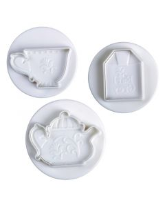 Pavoni Plunger Cutters Tea Time 3 piece