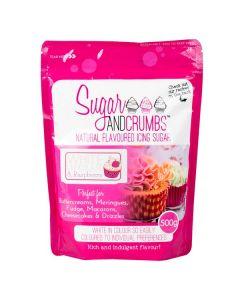 Sugar & Crumbs - White Chocolate & Raspberry - 500g
