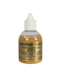 Sugarflair Airbrush Colour Gold