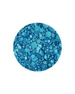 Sprinkletti: Blue Edible Sprinkles - 100g