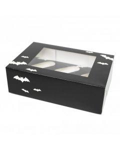 6 Cupcake Box `Bat Design` (pack of 5)