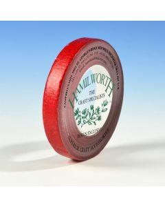 Hamilworth Metallic Red Florist Tape (12mm x 27m)