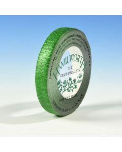 Hamilworth Metallic Green Florist Tape (12mm x 27m)