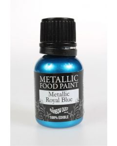 Metallic Edible Paint: Royal Blue (25ml)