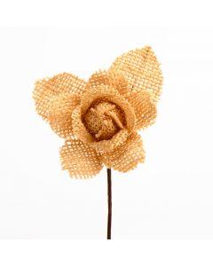 Hessian Rose – Dark Natural (12 Pack)