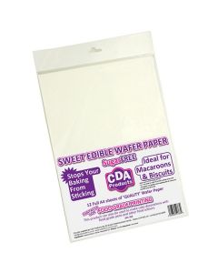 Edible A4 Wafer Paper (Pack of 12)