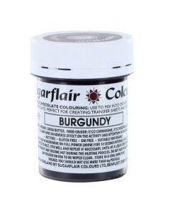 SugarFlair Burgundy Chocolate Colouring (35g)