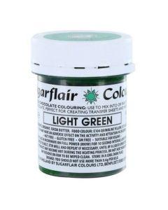 SugarFlair Light Green Chocolate Colouring (35g)