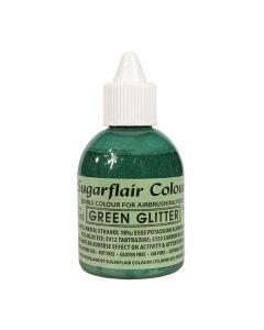 Sugarflair Airbrush Colour - Glitter Green
