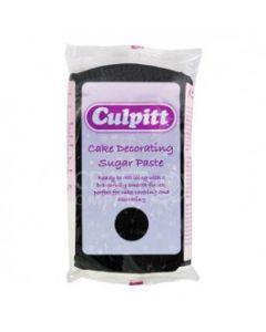 Culpitt Cake Decorating Sugar Paste Black 1 x 250g - single