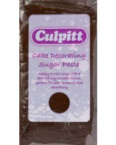Culpitt Cake Decorating Sugar Paste Chocolate Flavour 1 x 250g - single