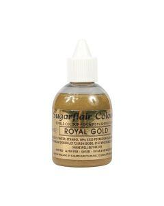 Sugarflair Airbrush Colour - Royal Gold Glitter