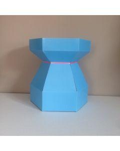 Cupcake Bouquet Box - Sky Blue