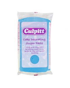 Culpitt Cake Decorating Sugar Paste Blue 1 x 250g - single