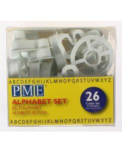 PME Cutter Alphabet Set 26 piece