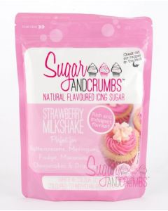 Sugar and Crumbs - Strawberry Milkshake 500g