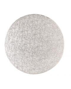 """17"""" Round Silver Drum"""
