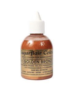 Sugarflair Airbrush Colour - Gold Bronze 60ml