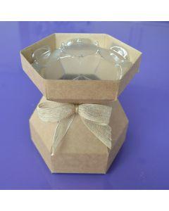 Cupcake Bouquet Box - Kraft