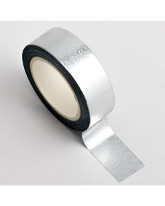 AT014 - Adhesive Washi Tape – Foil – Silver 15mm x 10m
