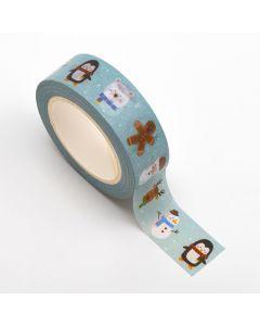 AT042 - Adhesive Washi Tape – Cute Christmas 15mm x 10m