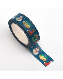 AT050 - Adhesive Washi Tape 15mm x 10M – Christmas Theme
