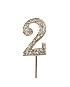 Diamante No 2 - Gold colour Wire