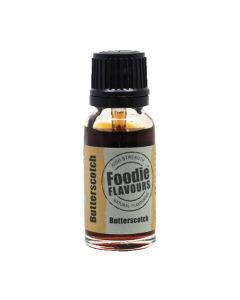 Foodie Flavours Butterscotch Natural Flavouring 15ml