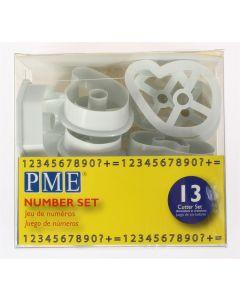 PME Cutter Number Set 13 piece