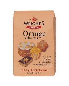 Wrights Baking Orange Cake Mix - 500g