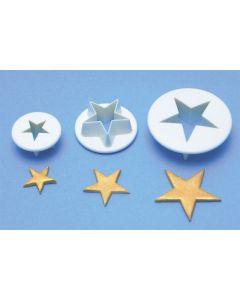 PME 3 Set Star Cutters