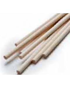 """PME 12"""" Wooden (Bamboo) Dowels (pack of 12)"""