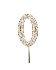 Diamante No 0 - Gold Colour Wire