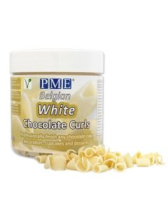 PME Chocolate Curls - White - 85g