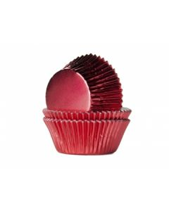Red Foil Cupcake Baking Cases - Pack of 500