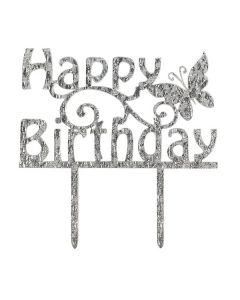 Cake Star Happy Birthday Cake Topper