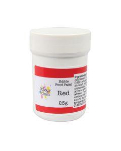 Colour Splash Edible Paint - Matt Red
