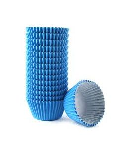 Mid Blue Cupcake Baking Cases (pack of 180)
