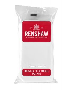 Renshaw RTR Sugar Paste - White - 500g