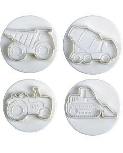 Pavoni Plunger Cutter Heavy Vehicles 4 piece