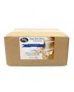 Navy Sugar Paste Direct (SPD) 2.5kg