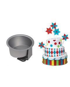 "PME Topsy Turvy Cake Tin - 6"""