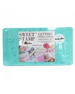 SWEET STAMP  Handwritten Letters Embossing Set