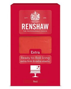 Renshaw Extra Red Ready to Roll Icing 1kg