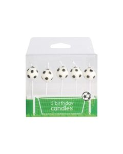 Football Candles - 5 pce