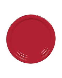 Apple Red Party Plates - Paper