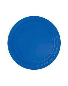Royal Blue Party Plates - Paper
