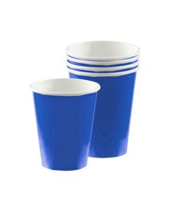 Royal Blue Party Cups - Paper