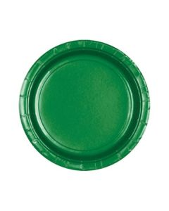Green Party Plates - Paper